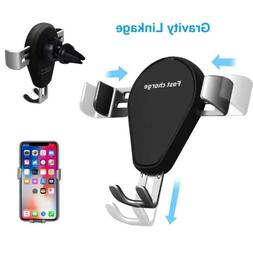 10W Qi Wireless Car Fast Charger Air Vent Mount Holder for S