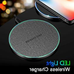 10W 15W Qi Wireless Charger Fast Charging Mat Pad for iPhone