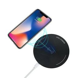 10W FAST Slim Wireless cell phone charger compatible for Sam