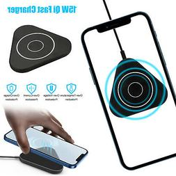 10W Qi Fast Wireless Charger Car Charger Cup Holder For iPho
