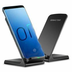 FDGAO 10W Qi Fast Wireless Charger Charging Dock Stand For S