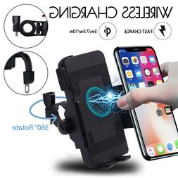 10W QI Motorcycle Motorbike Wireless Charger Charg  Mobile P