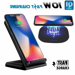 Wireless Charging Stand Qi Fast Charger Dock for LG G5 G6 G7
