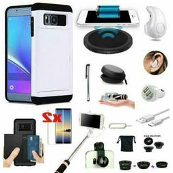 12 in 1 Case Qi Wireless Charger Headset Accessory Bundle Fo