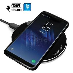 Qi Wireless Charger Charging Pad for Samsung Galaxy S9 S8 P