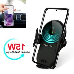 15W Qi Wireless Charger Auto Car Phone Holder For Samsung S2