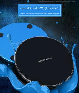 15w qi wireless charger fast charge pad