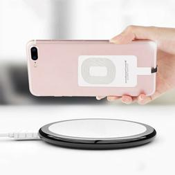 1PC iPhone Samsung Andriod Type-C Qi Wireless Charger Adapte