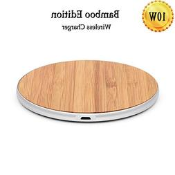 Qi Wireless Charger Pad, Wireless Charging Pad, Ultra Slim W