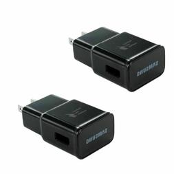 2PC For Samsung Galaxy Note8 S8 S9 Plus Fast Wall Charger Ad