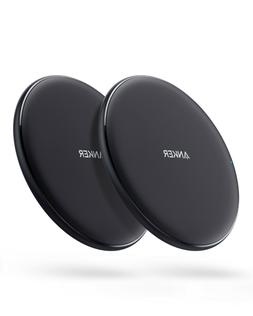 Anker 2pcs Wireless Charger PowerWave Pad Qi 7.5W for iPhone