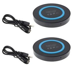2x QI Wireless Charger Pad Mat For Samsung Galaxy S7 Active