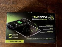 Powermat  2X wireless charger :  charges two devices  brand