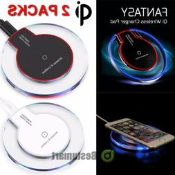 2xFast Qi Wireless Charger Charging Pad for Samsung Galaxy N