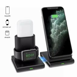 3 in 1 wireless charger dock stand
