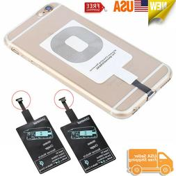 5 pcs Qi Wireless Charger Adapter Receiver For iPhone Samsun