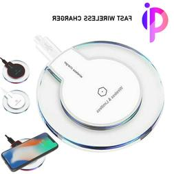 5W 10W Qi Wireless Charger Pad for iPhone XS/Max/XR/8/Plus G