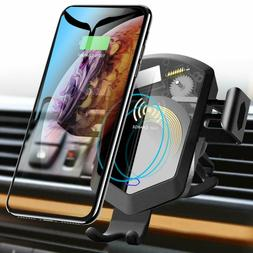 TOZO 7.5W Fast Wireless Car Charger,  Air Vent Mount For iPh