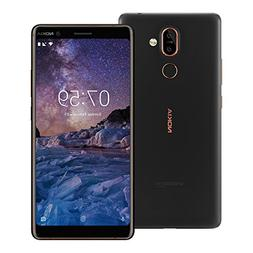 "Nokia 7 Plus  64GB Black Copper, Dual Sim, 6"", 4RAM, GSM Unl"