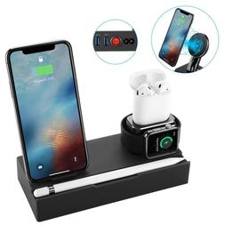 8 in 1 Wireless Charger Stand & Charging Station For Apple W