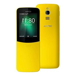 Nokia 8110 4G  Dual Sim Factory Unlocked Yellow