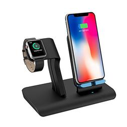 Apple Watch Stand Charging Docks & iPhone X Wireless Charger