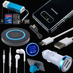 Bundle Wireless Car Charger Cable Case Earphone For Samsung