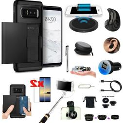 Case+Qi Wireless Charger+Fish Eye+Monopod Accessory For Sams