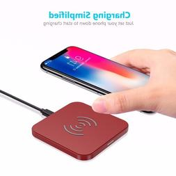 Choetech, wireless charger charging Pad, iphone 8 fast wirel