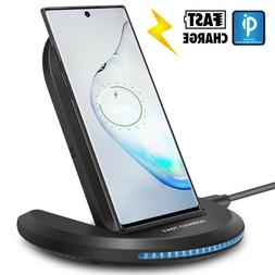 For Samsung Galaxy Note 9/ S9+/ S10 Wireless Qi Fast Charger