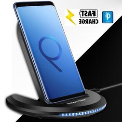 For Samsung Galaxy Note 9 / S9+ Wireless Qi Fast Charger Cha