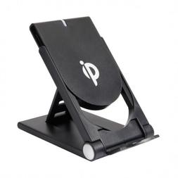 Portable Qi Wireless Charger Stand Cordless Charging Adjusta