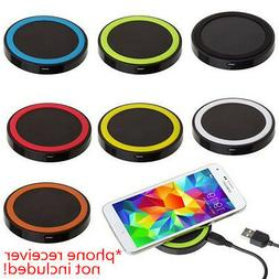 QI Wireless Charging Charger Pad For iPhone Samsung Galaxy S