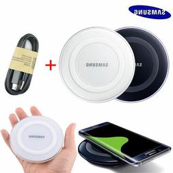 Qi Wireless Charger Stand Dock Pad For Samsung Galaxy S7 S6