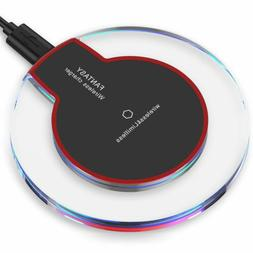 Qi Wireless Fast Charger Charging Pad Samsung Galaxy Note 8
