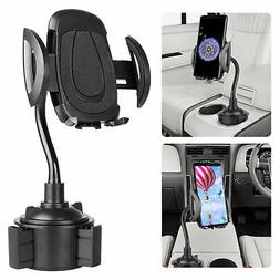 Adjustable Gooseneck Cup Holder Cradle Car Mount for Univers