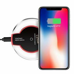 Wireless Charger, QI E&jing Wireless Charging Pad for Ap