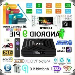 Android TV Box 9.0 2GB 16GB Quad Core WiFi Smart Network Med