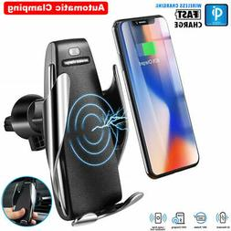 Automatic Clamping Wireless Charger Fast Charging Car Charge