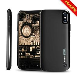 Battery Case for iPhone X,NUTK 3500mAh Thin Rechargeable Cha