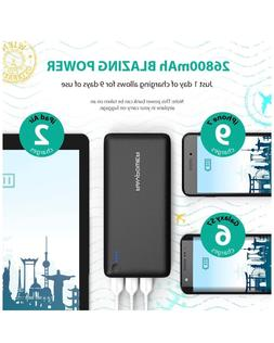 Battery Pack RAVPower 26800 Portable Charger 26800mAh Power