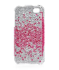 Generic Bling Hard Plastic Case for iPhone 4S/4 - 1 Pack - N