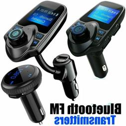 Bluetooth Car FM Transmitter Wireless Radio Adapter USB Char