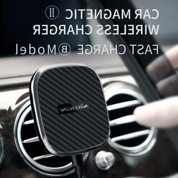 NILLKIN Car Magnetic Wireless Charger II Fast Charge with Pr
