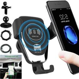 car mount qi wireless charger air vent