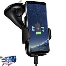 Car Mount Wireless Charger ivolks Cordless Mobile Phone Char