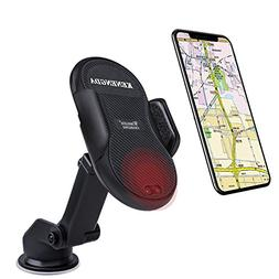 Car Phone Mount and Charger for Samsung Galaxy S9 Plus S8 Pl