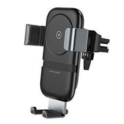 andobil Wireless Car Charger Mount, Qi Certified, Auto-Clamp