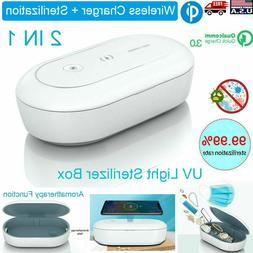 cellphone jewelry uv ozone sterilizer qi wireless