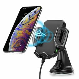 CHOETECH Fast Wireless Car Charger Mount, 7.5W Compatible wi
